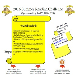 Download the 2016 Summer Reading Challenge packet